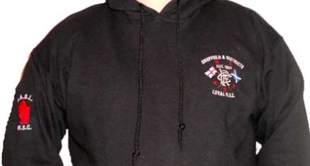 Club Hoody with Embroided Club Badge