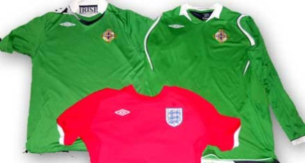 Charity Football Shirts