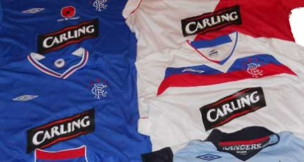 Rangers Charity Tops